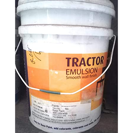 Asian Paint Tractor Emulsion 20 L White Amazon In Home Improvement