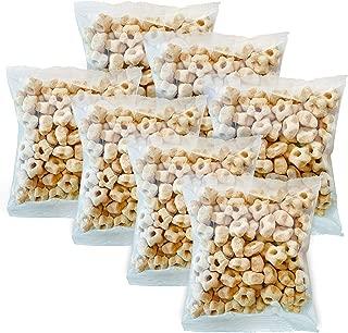 Awsum Snacks Organic Quinoa Star Puffs Cereal One Week Pack (1.5oz 7 packs) Gluten Free Puffed Quinoa Seeds Grain Healthy Vegan Diabetic Pop High Protein And Fiber Crispy Chips No Sugar Snack