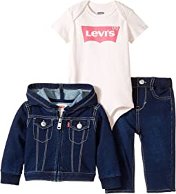 Levi's® Kids Three-Piece Mega Box Set (Infant)