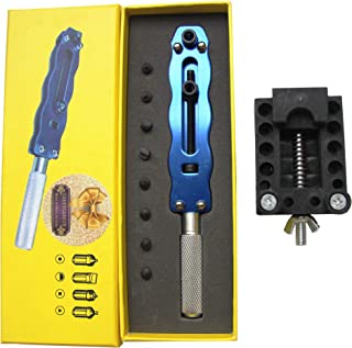 Adjustable Battery Releaser on The Back of The Watch, Large Wrench Repair Kit, Suitable for use in Large, Medium and Small Watches