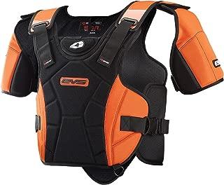 EVS Sports SV1R Race Ready Protective Snow Vest (Black/Orange, X-Large/XX-Large)