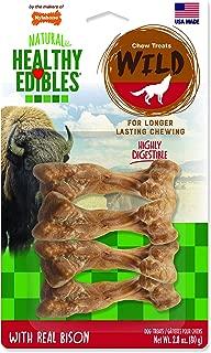 Nylabone Healthy Edibles Wild Flavors Dog Chew Treat Bones | Small, Medium, Large
