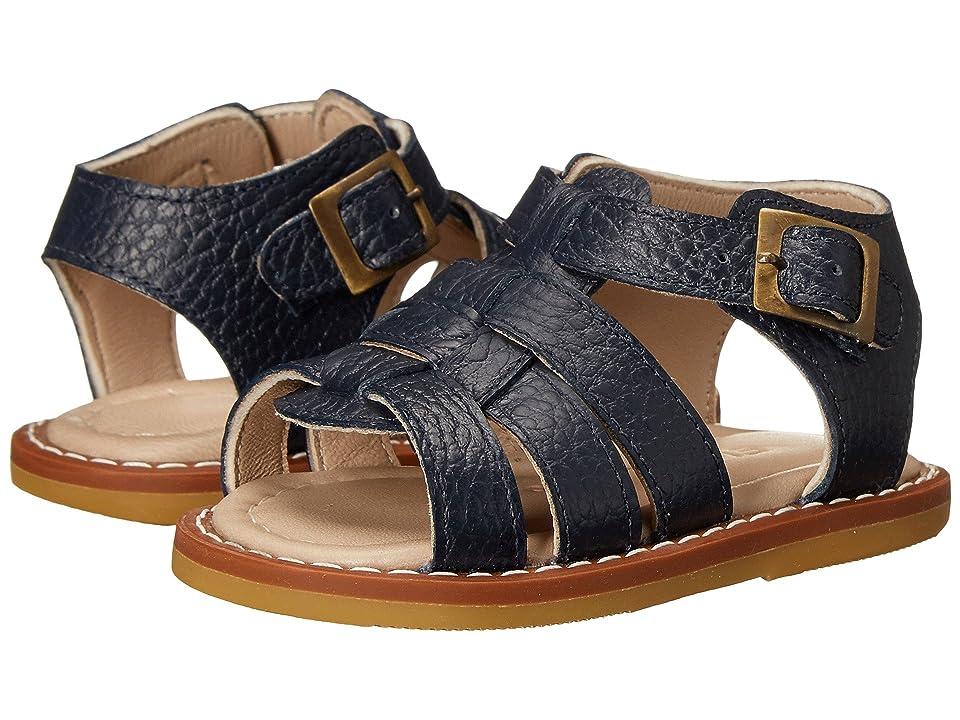 Elephantito Fisherman Sandal (Infant/Toddler) (Leather Blue) Boys Shoes