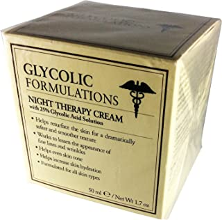 Glycolic Formulations Night Cream Therapy