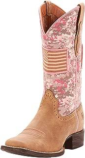 ARIAT Women's Round Up Patriot Western Boot