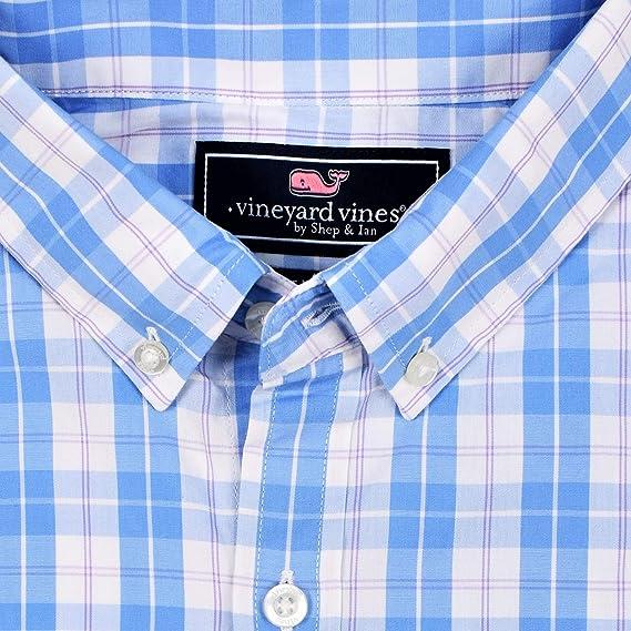 Vineyard Vines Hombres Slim Fit – Ballenas Camisa para Hombre Button Down Camisa de Vestido