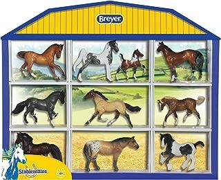 Breyer Stablemates Horse Shadow Box Ten Horse Set   1:32 Scale   Model #5425