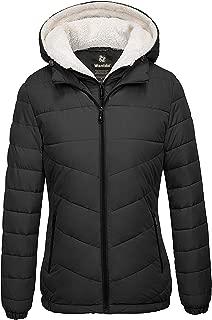 Women's Winter Coats Hooded Windproof Puffer Jacket