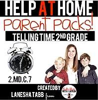 Help At Home Parent Packs ANALOG CLOCKS 2nd Grade