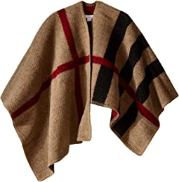 Burberry Kids Check Cape (Little Kids/Big Kids)
