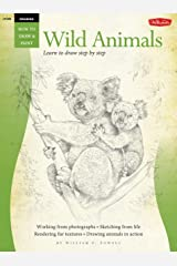 Drawing: Wild Animals: Learn to draw step by step (How to Draw & Paint) Paperback