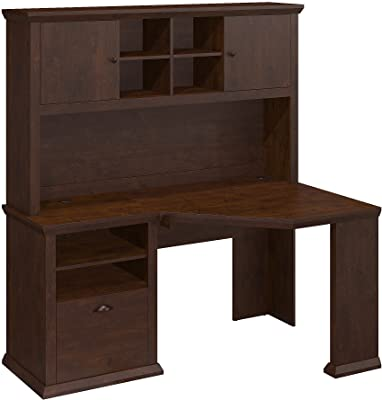 0a8a19494ca09 Amazon.com  Sauder 101736 Camden County Computer Desk with Hutch
