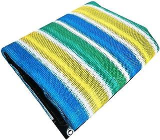Sun Shade Sail, Rectangle Sun Shade Sail Shade Cloth Net Mesh Tarp Greenhouse Covers Sunblock UV-Resistant Protection Plan...