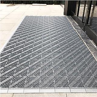 Doormats Large Outdoor Business Door Mat, Heavy-Duty Entrance Foot Mat, Non-Slip Waterproof Dust Suction Mat, Easy to Spli...