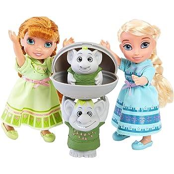 Disney Frozen 6 inch Elsa with Baby Anna Figure: Amazon.co