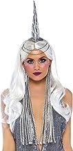 Leg Avenue Women's Golden Glitter Unicorn Headband