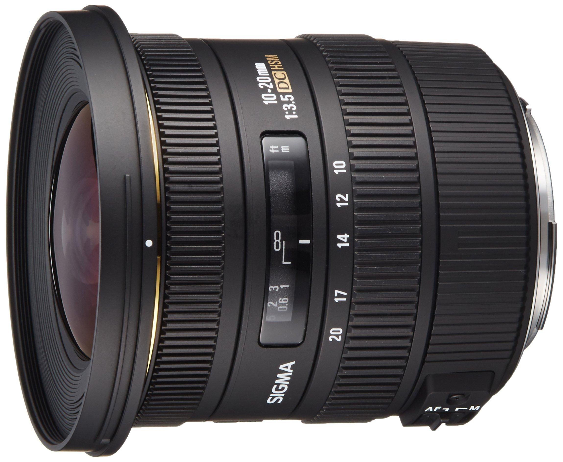 Sigma 10 20mm Aspherical Digital Cameras
