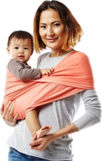 Baby K'tan Active Baby Wrap Carrier, Infant and Child Sling – Simple Wrap..
