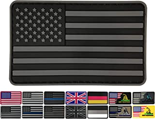 Best black and white american flag patch Reviews