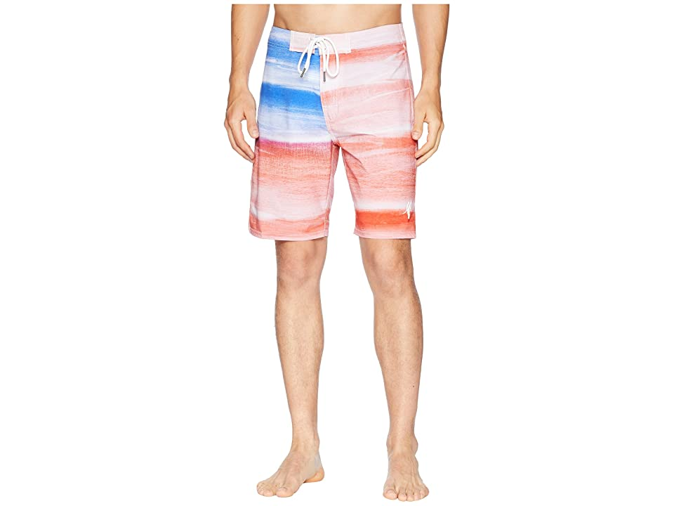Toes on the Nose Americana Boardshorts (Red) Men