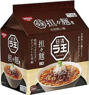 日清 ラ王 担々麺 5食パック 475g ×6袋