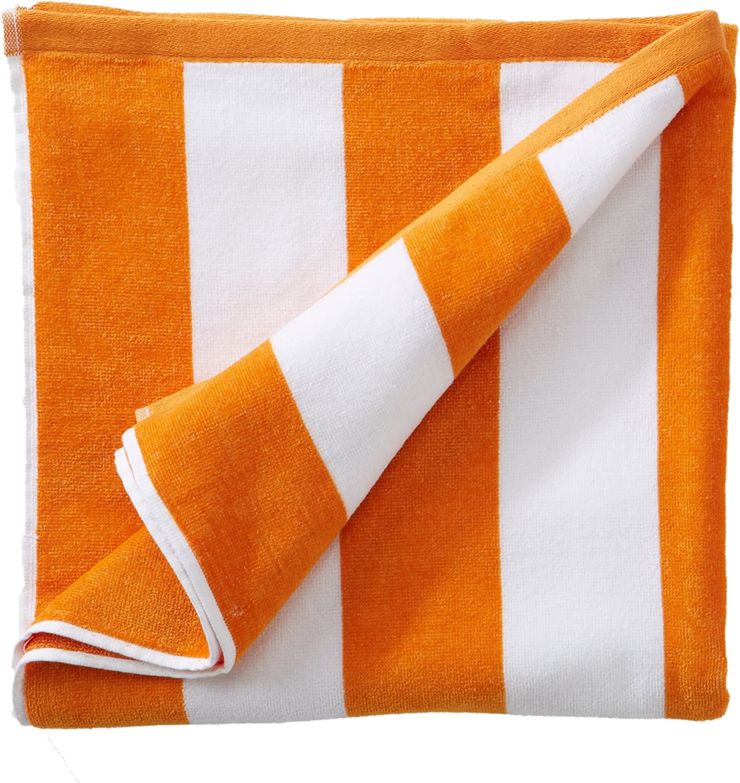 Oversized Plush Velour 100% Cotton Beach Towel