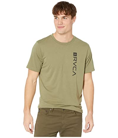 RVCA Sport Box Short Sleeve T-Shirt (Duffle Green) Men