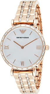 Emporio Armani Women's Mother Of Pearl Dial Stainless Steel Analog Watch - AR11294