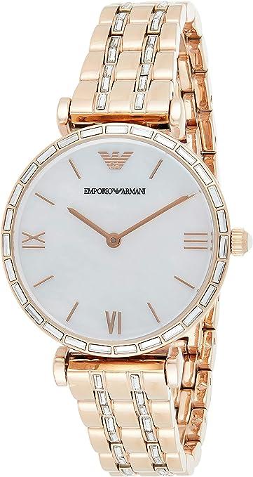 Emporio Armani Reloj Analógico para Mujer de Cuarzo AR11294