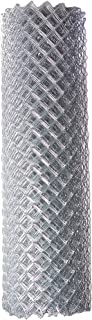 ALEKO CLF125G6X50 Chain Link Mesh Roll for DIY Fence System Galvanized Steel for Home Business Agriculture 6 x 50 Feet Silver