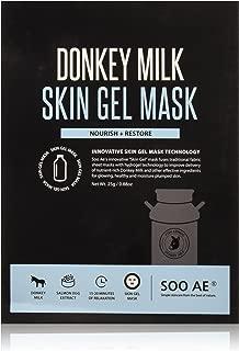 Soo Ae Donkey Milk Skin Gel Mask Sheets, 0.41 Pound