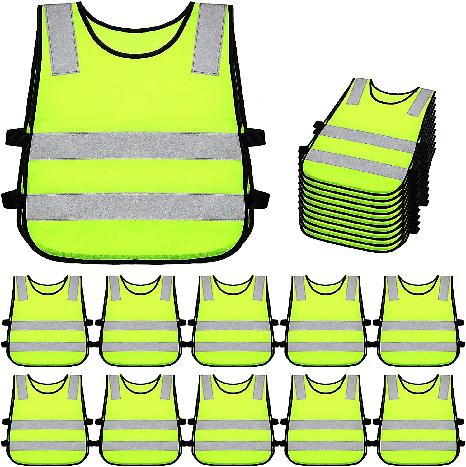 Kids New Outstanding arrival Reflective Vest Child Safety Sk Visibility Cycling for