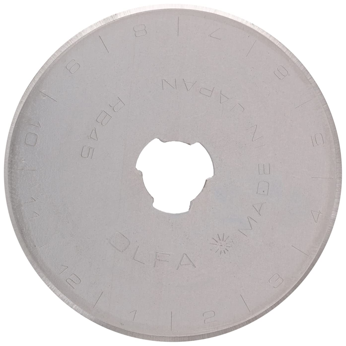 PRYM/OLFA 611372 Spare blade STANDARD for rotary cutters Size 45mm, 1 piece