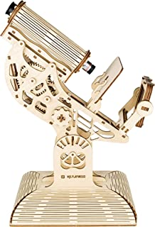 Wise Elk Microscope Wooden Mechanical 3D Puzzle