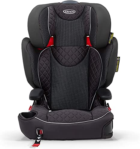 Graco Affix High back Booster Car Seat with ISOCATCH Connectors, Group 2/3 (4 to 12 Years Approx, 15-36 kg),Stargazer: image