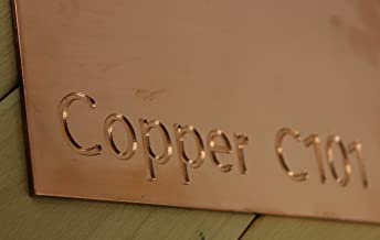 23 sizes to choose from 0.7mm Thick Brass Sheet Plate 300mm x 150mm