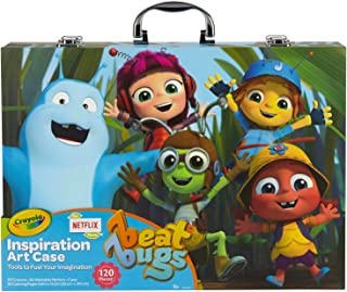 Crayola Beat Bugs Inspiration Art Case 120pc
