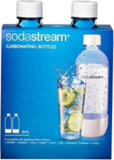 SodaStream 1042211010 Carbonating Bottle, White