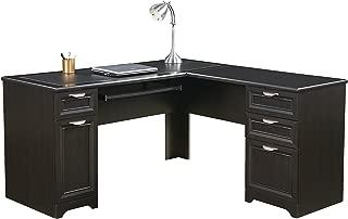 Realspace Magellan L-Shaped Desk, 30H x 58 3/4W x 18 3/4D, Espresso