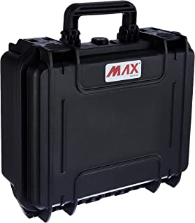 Max MAX300S.079 IP67 Rated Waterproof Durable Watertight Equipment Photography Hard Carry Pick & Pluck Foam Plastic, Fligh...