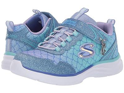 SKECHERS KIDS Glimmer Kicks 81444L (Little Kid/Big Kid) (Light Blue/Multi) Girls Shoes