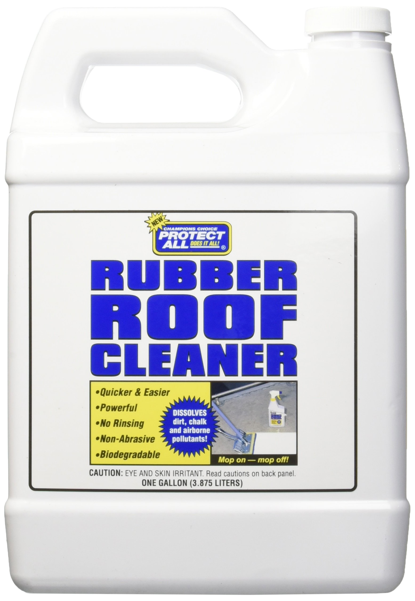 Rubber Roof Cleaner Non Toxic Non Abrasive