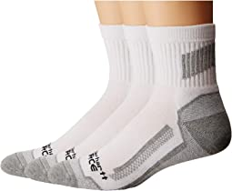 3-Pack Force Performance Work Quarter Socks