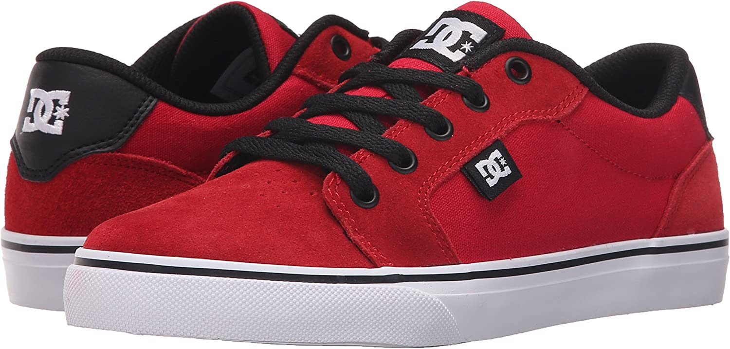 Little Big Kid DC Unisex-Child Anvil Skate Shoe