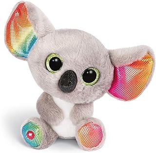 NICI 46319 Glubschgosedjur Koala Miss Crayon 15 cm, fluffig mjuk leksak med stora glitterögon, söt mjuk leksak för barn oc...