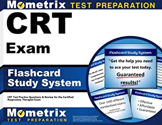 CRT Exam Flashcard Study System: CRT Test Practice Questions & Review for the Certified Respiratory Therapist Exam (Cards)