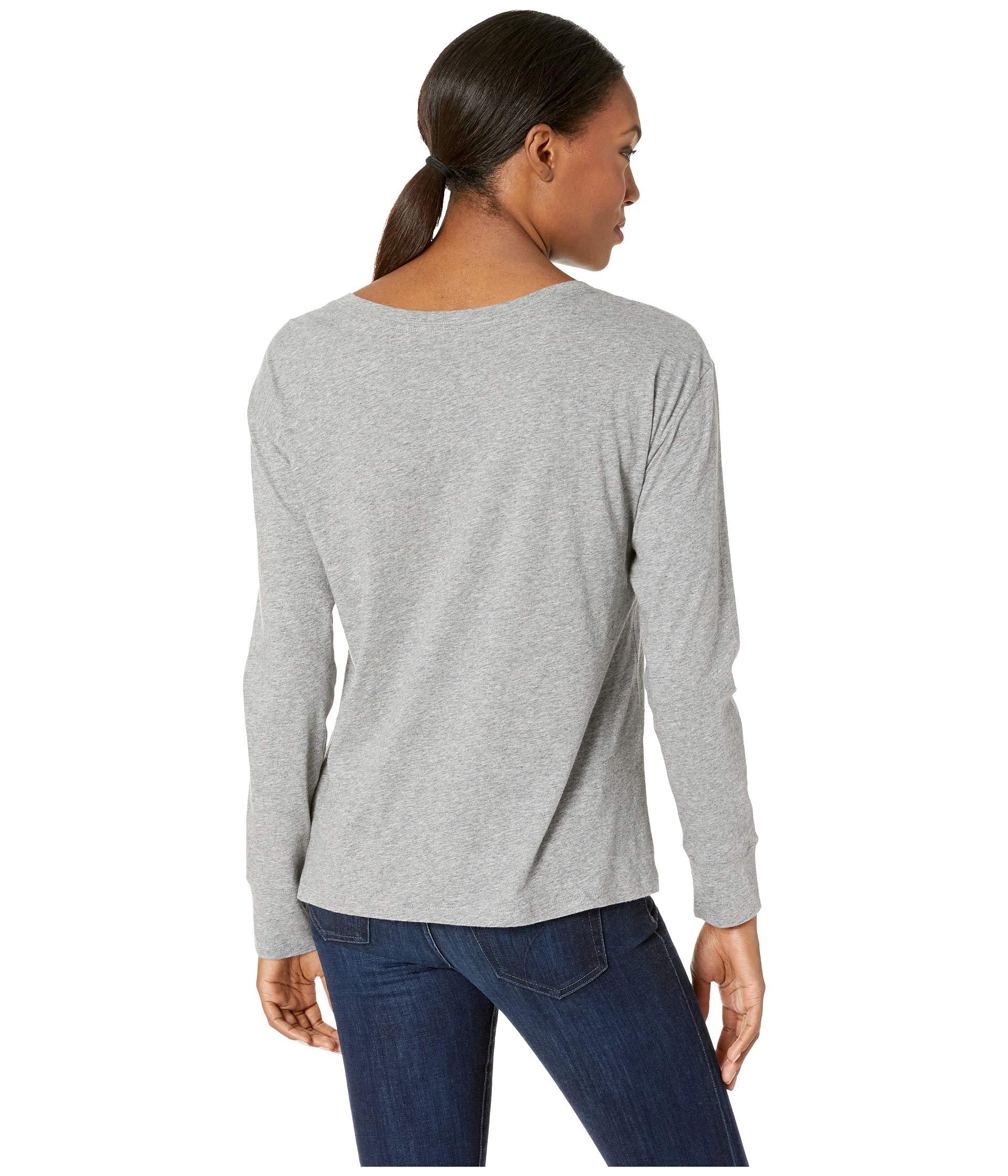 shirt Breezy Heather Life Truck Sleeve Long Love Is Good Gray T gxaqBT