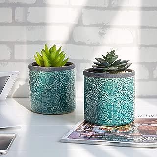 Best turquoise plant pot Reviews