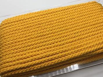 8 mm//Baumwolle 002 dunkelgrau 1 m//Meterware//viele Farben Die Stofftante Kordel//Hoodiekordel