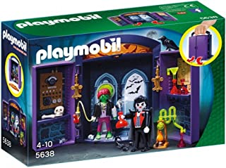 Playmobil Knights Haunted House Play Box, Multi-Colour, 5638